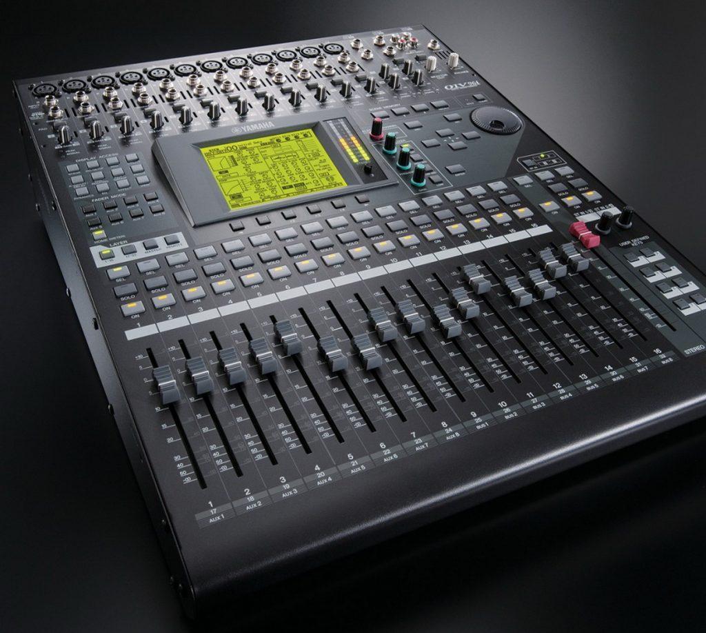 Yamaha 01V96i digitális keverőpult és audio interfész